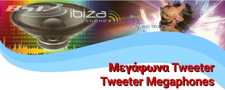 Tweeter Megaphones