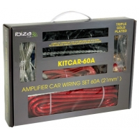 KITCAR60A CABLE SET CAR AMPLIFIER
