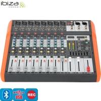 MX802 8-CH MUSIC MIXER USB-BT