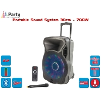 PARTY-12LED PORTABLE SOUND SYSTEM
